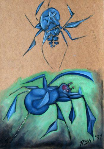 Cubist spider study - Russ Horne